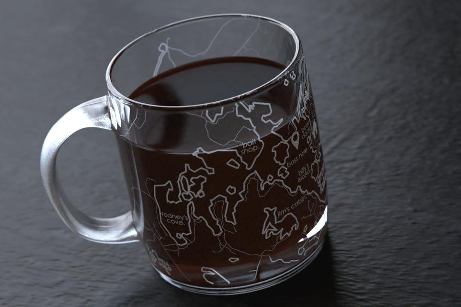 Anywhere Maps Coffee Mug
