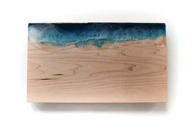 "Ocean Wave Serving Board - 10""x16"""