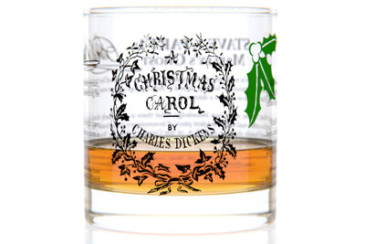 A Christmas Carol - Dickens Rocks Glass