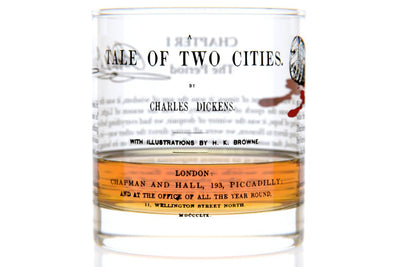 A Tale of Two Cities - Dickens Rocks Glass