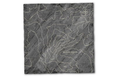 Topography Map Slate Server