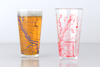 Washington, DC - American University - College Town Map Pint Glass Set