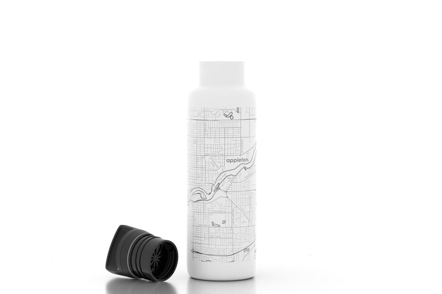 Home Town Maps 21 oz Insulated Hydration Bottle