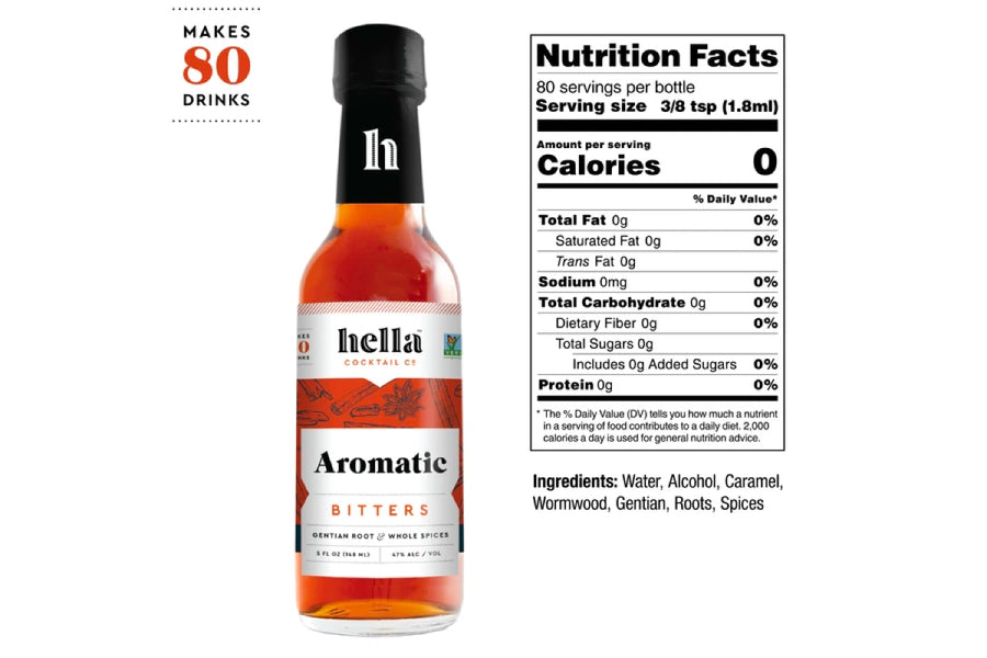 Aromatic Bitters - 5oz