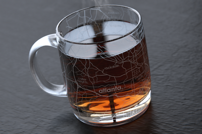 Atlanta Maps Coffee Mug