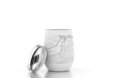 AEG Boston Map 12 oz Insulated Tumbler