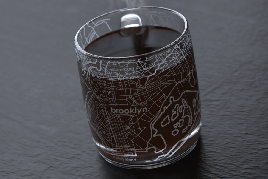 Brooklyn Map Coffee Mug