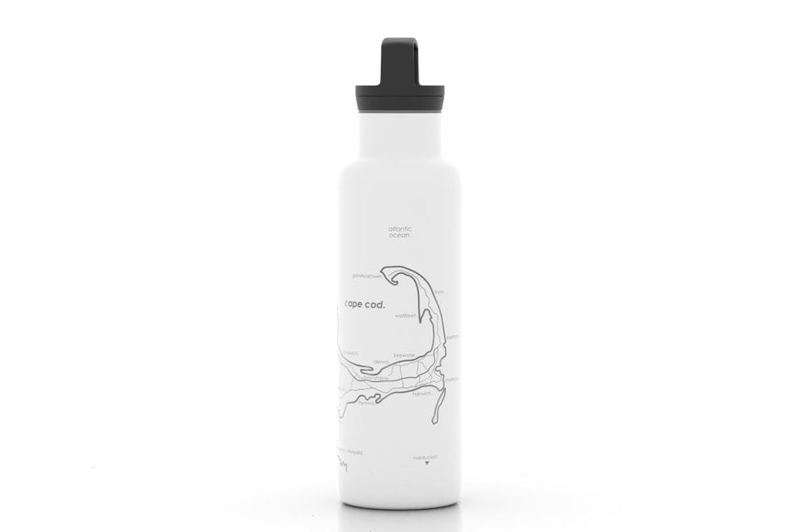 Island and Coastal Maps 21 oz Insulated Bottle