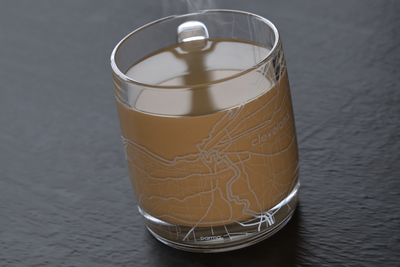 Cleveland Map Coffee Mug