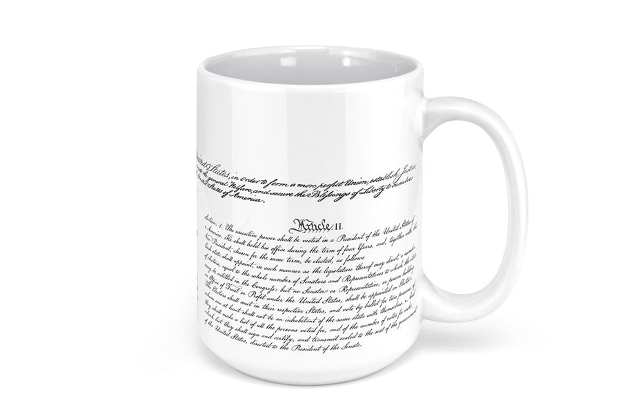 Constitution Ceramic Mug - 15oz