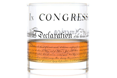 Declaration Rocks Glass