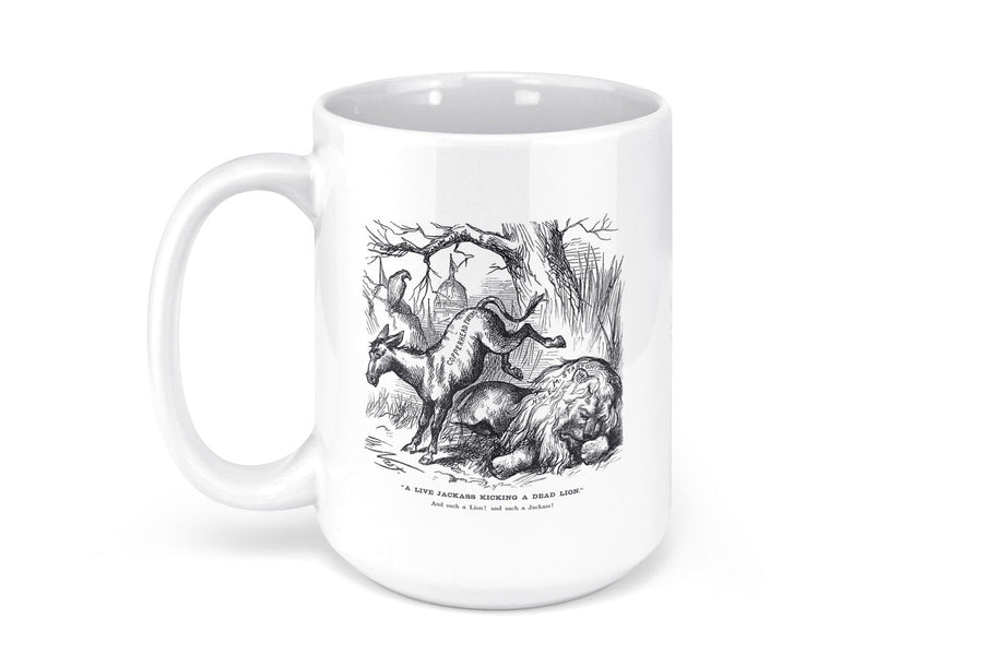 Democratic Party Ceramic Mug - 15oz