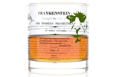 Frankenstein - Shelley Rocks Glass