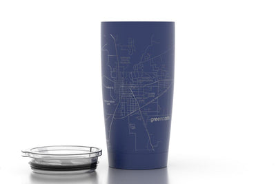 Home Town Maps 20 oz Insulated Pint Tumbler