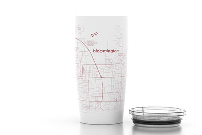 Bloomington, IN - Indiana Univ - Color College Town 20oz Insulated Pint Tumbler