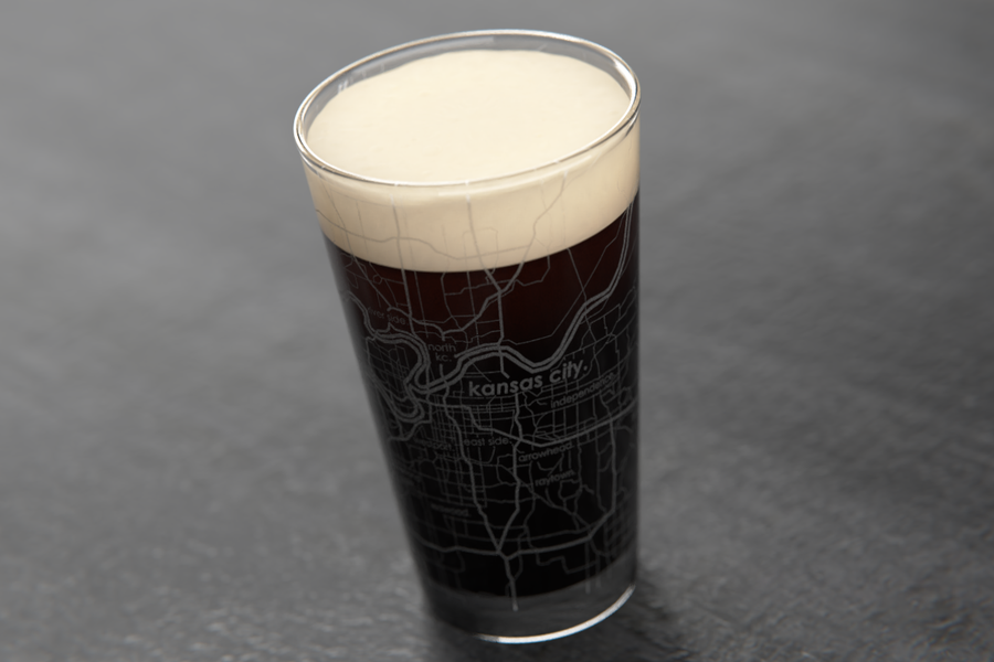 Kansas City Maps Pint