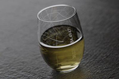 Lexington KY Map Stemless Wine Glass