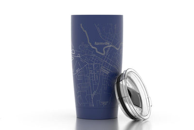 College Town Maps 20 oz Insulated Tumbler