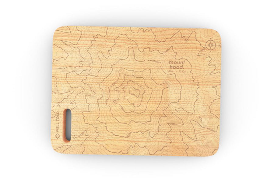 Topography Maps Bar Board