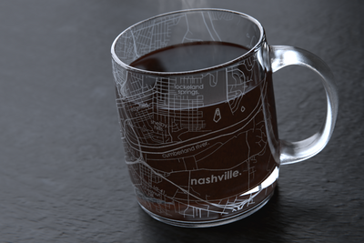 Nashville Map Coffee Mug