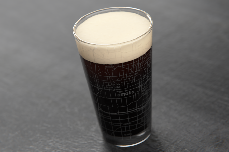Omaha Maps Pint