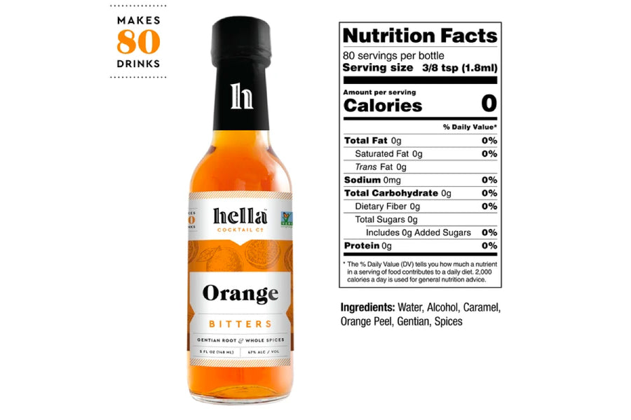 Orange Bitters - 5oz