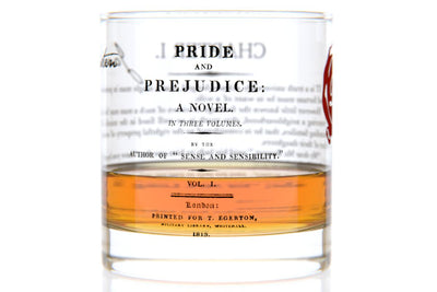 Pride and Prejudice - Austen Rocks Glass