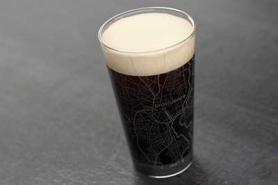Providence Map Pint Glass