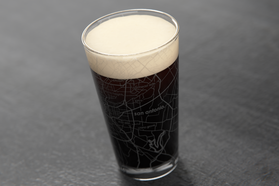San Antonio Maps Pint