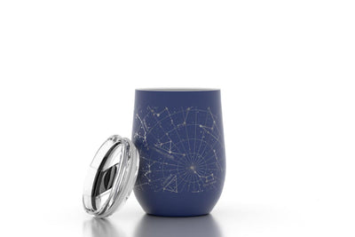 Custom Night Sky 12 oz Insulated Wine Tumbler