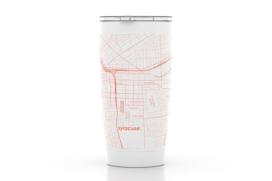 Syracuse, NY - Syracuse Univ - Color College Town 20 oz Insulated Pint Tumbler