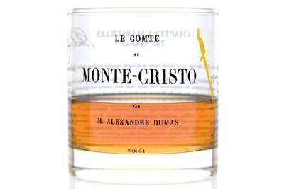Count of Monte Cristo - Dumas Rocks Glass