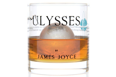 Ulysses - Joyce Rocks Glass