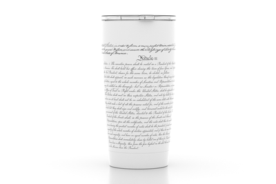 US Constitution - 20oz Insulated Pint Tumbler
