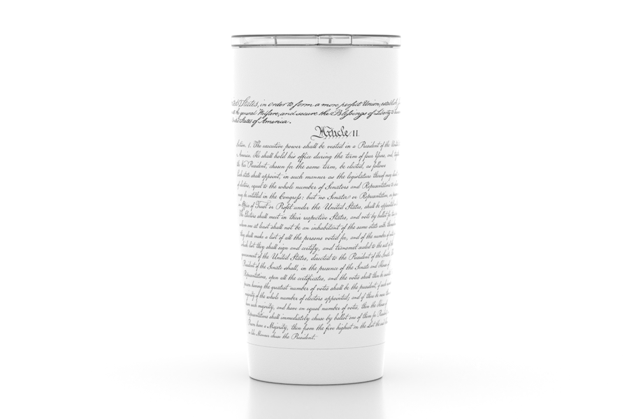 US Constitution - 20 oz Insulated Pint Tumbler