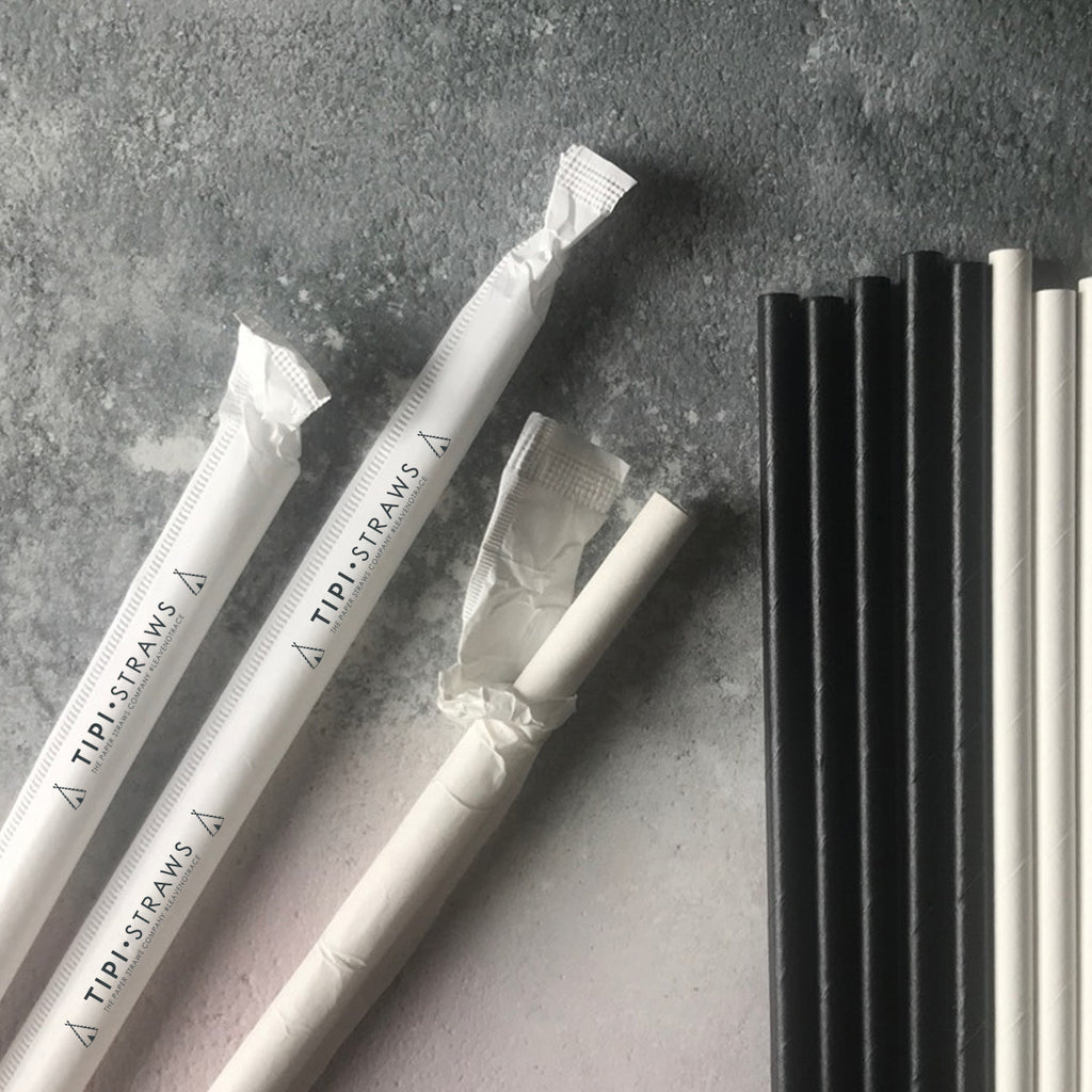 The First UK Wrapped Paper Straws Production