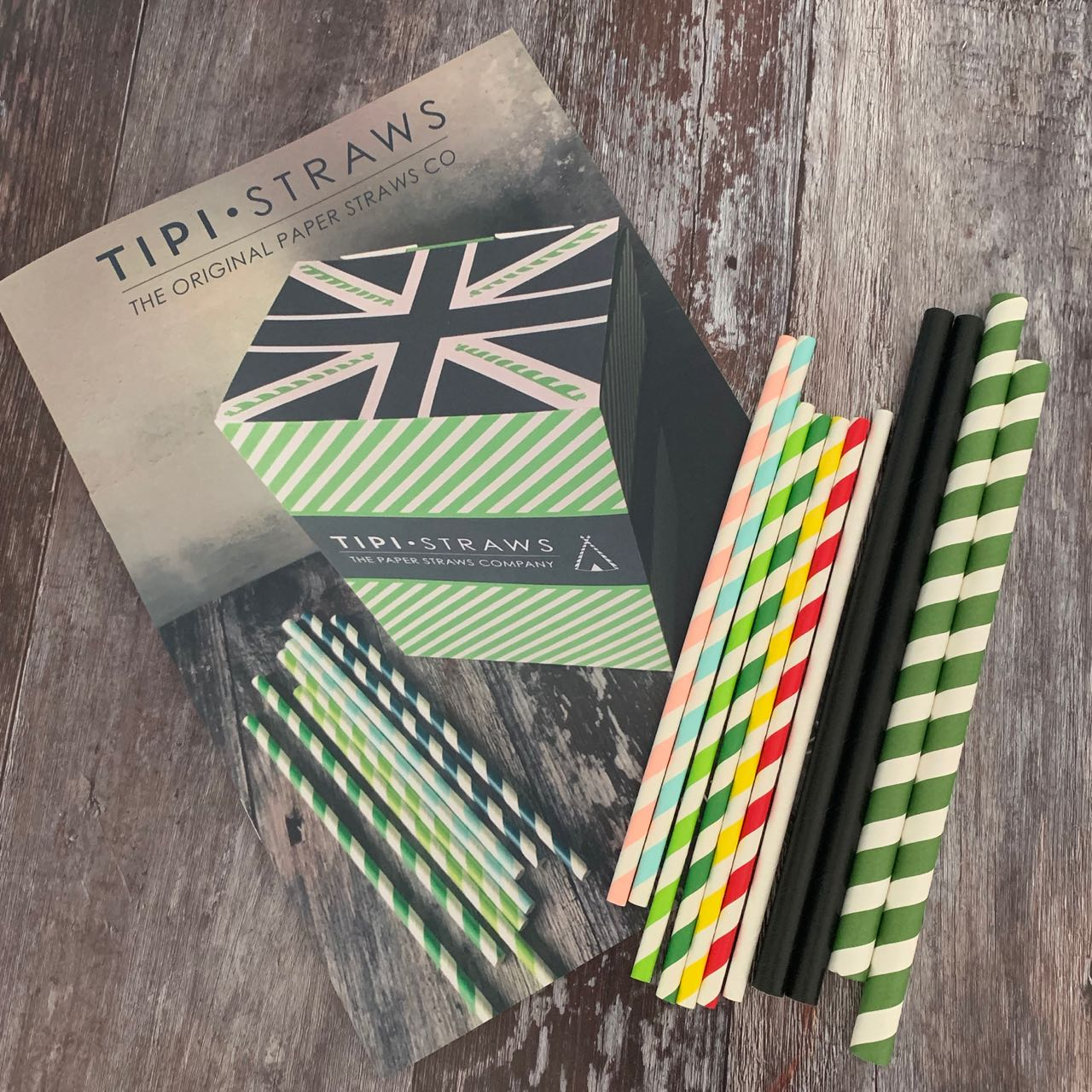 Sample Pack Paper Straws - Trade