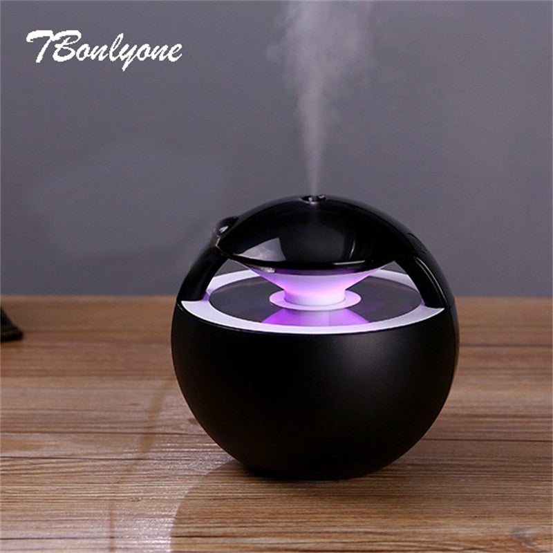 450ML Ball Humidifier with Aroma Lamp Essential Oil - techtobody