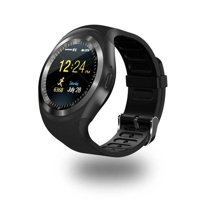 696 Bluetooth Y1 Smart Watch Relogio Android Smartwatch Phone Call SIM TF Camera - techtobody