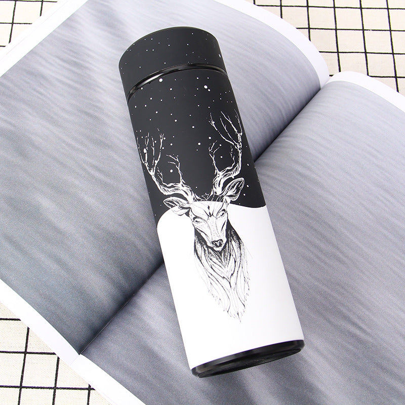 Creative Deer Style Stainless Steel Water Bottle and Thermos