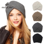 Knitted winter hat women - techtobody