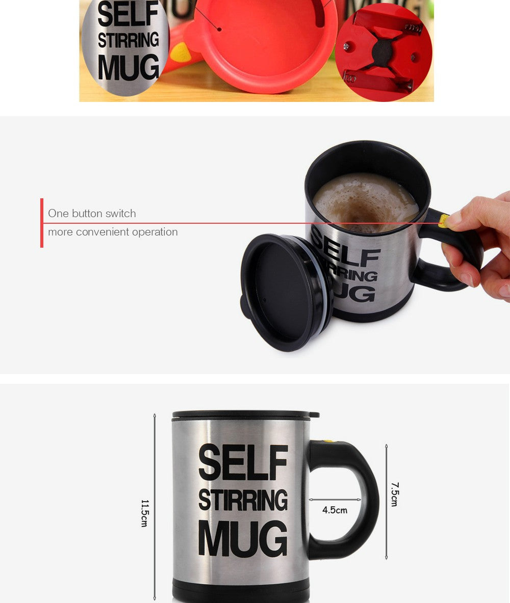 Self Stirring Mug - techtobody