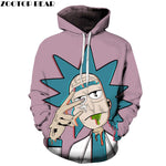 Unisex Rick and Morty 3D Hoodies - techtobody