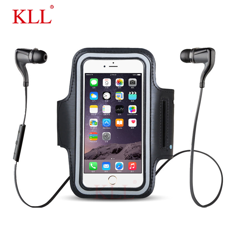 Waterproof Mobile Phone Arm Band Bag Holder for iPhone Smartphone on - techtobody