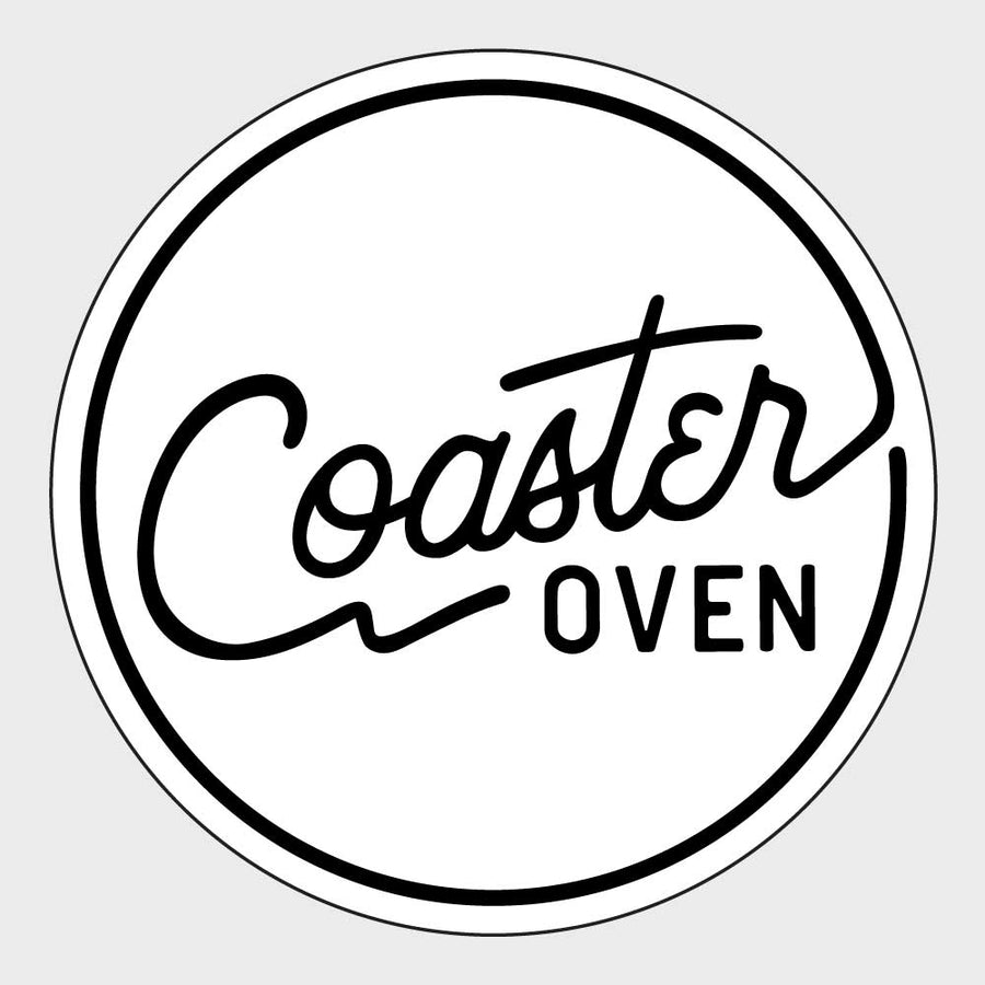 Coaster Oven Circle with Design