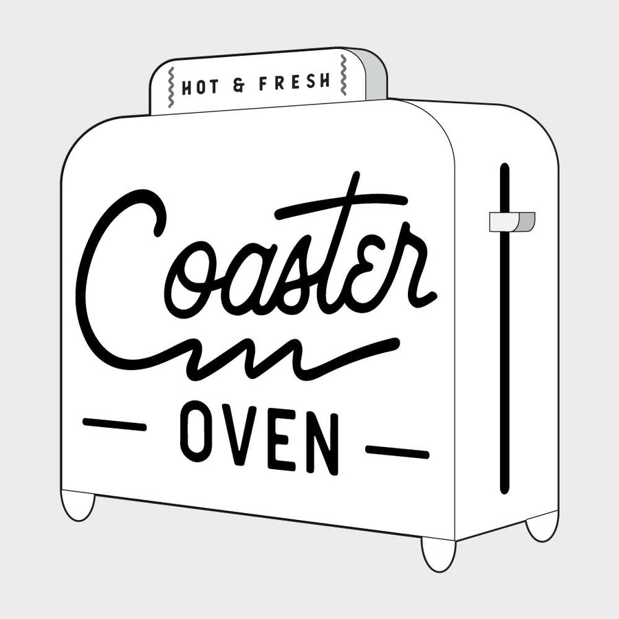 Coaster Oven Custom with Design
