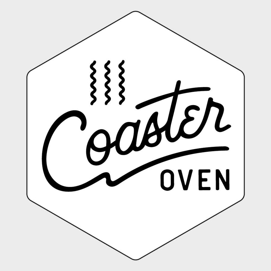 Coaster Oven Hexagon with Design