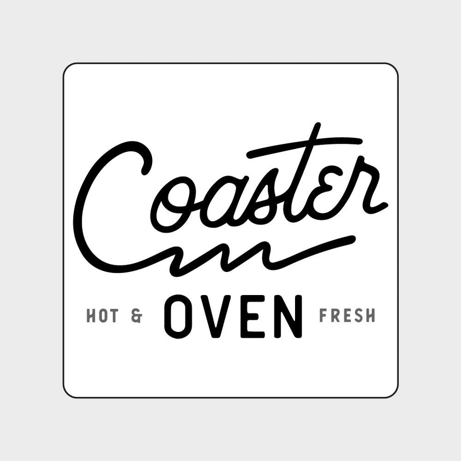 Coaster Oven Square with Design