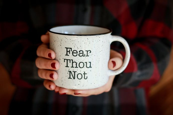 Fear Thou Not Campfire Mug