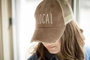 Local Distressed Hat